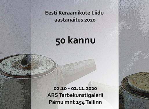 Eesti Keraamikute Liidu aastanäitus 2020