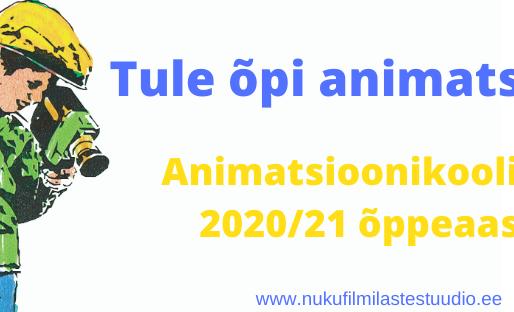 Nukufilmi Lastestuudio Animatsioonikool ootab uusi õpilasi