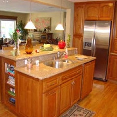 Cherry Wood Cabinets