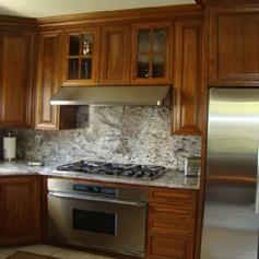 Walnut Wood Cabinets