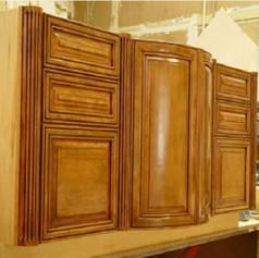 Custom Finished Cherry Cabinet