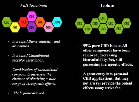 Full Spectrum Vs CBD Isolate