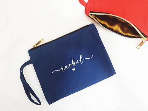PERSONALISED POUCH WITH HANDLE