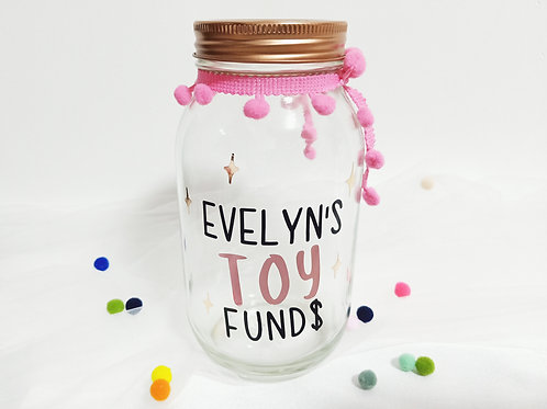 TOY FUNDS JAR