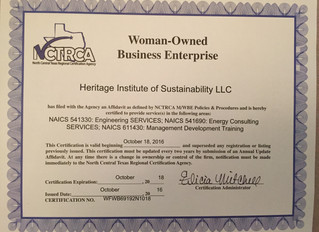 Heritage IOS is M/WBE Certified