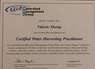 Certified Water Harvesting Practitioner
