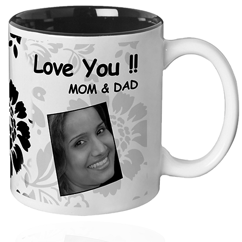 Inner colour  mug