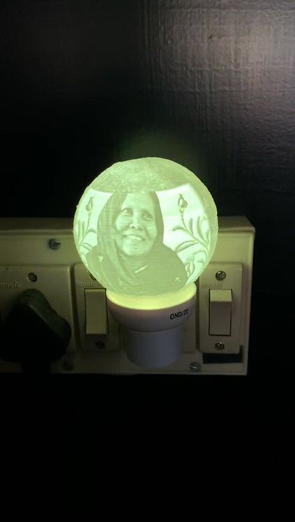Lithophane Night Lamp