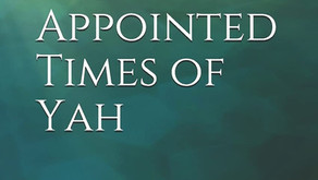 Pagan Holidays and the Appointed Times of Yah, My Second Book
