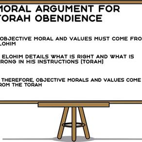 Moral Argument for Torah Obedience