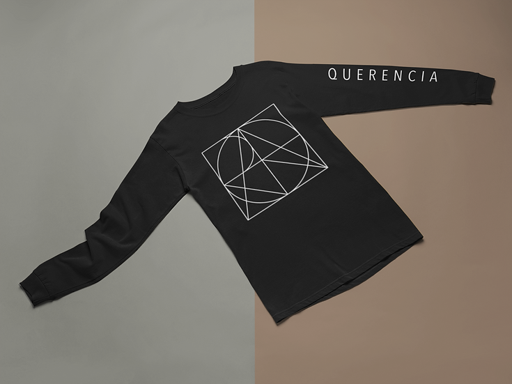 Black Jersey Long-Sleeve T-Shirt