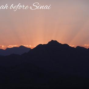 Torah before Mount Sinai