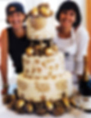 Owners Cheryl and Catherine with their beautiful creation