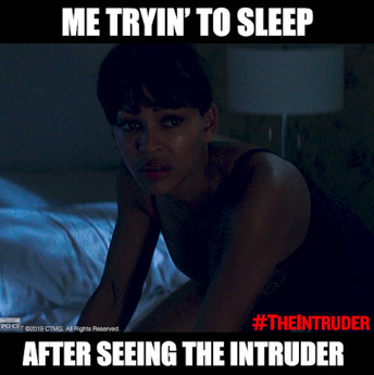 """Try To Sleep"" - The Intruder"