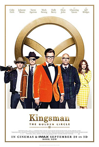KINGSMAN THE GOLDEN CIRCLE - ON FX