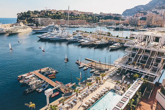 Luxury Super Yacht Harbour Monaco