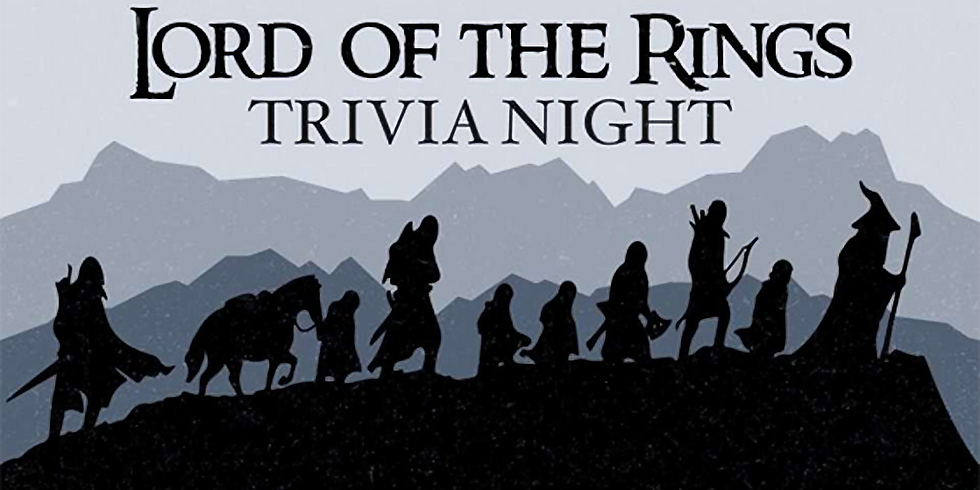 Lord of the Rings Trivia with Three Rivers Trivia