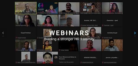 Webinars: Building a stronger HR fraternity