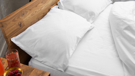 Pillows on lock-down