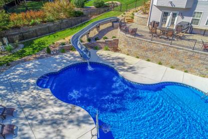 Munie Leasure Center Pool Install