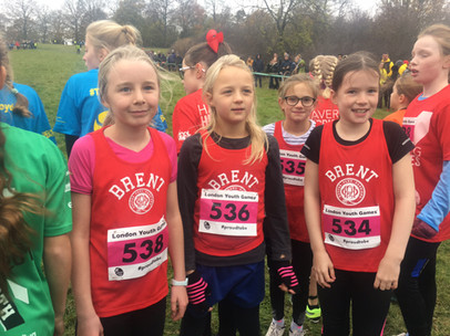 LONDON YOUTH GAMES XC 2017