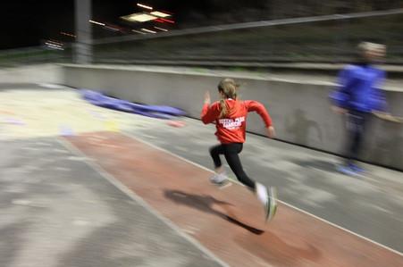 Junior track session 2015