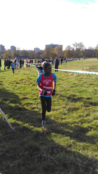 LONDON YOUTH GAMES XC CHAMPS2016