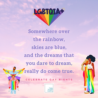 Gray Rainbow Gay Rights Social Media Gra