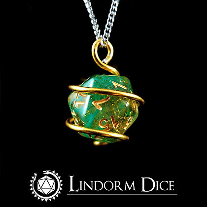 Loki D20 Necklace