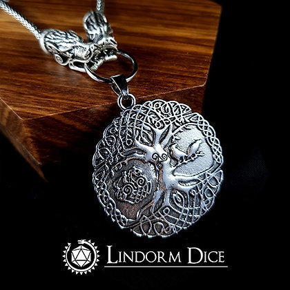 Yggdrasil worldtree necklace