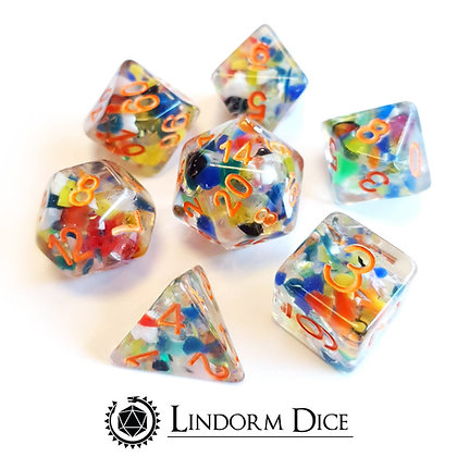 Regenerated dice