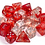 Thumbnail: Chessex Nebula TM Red / Silver 7 pcs set