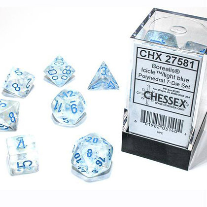 Chessex Borealis Icicle luminary