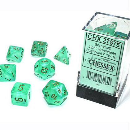 Chessex Borealis light green luminary