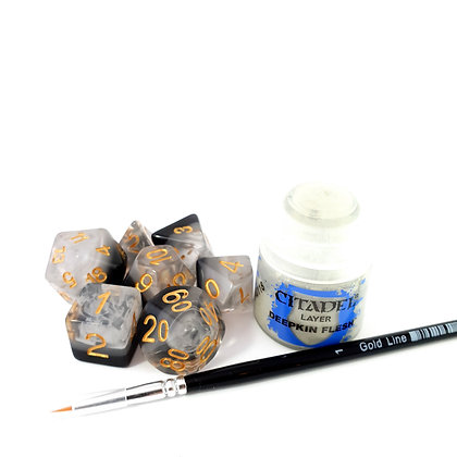 Kopia av Inking set: Ink bound + Citadel paint + Size 1 brush