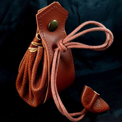 Viking dice pouch - PU leather