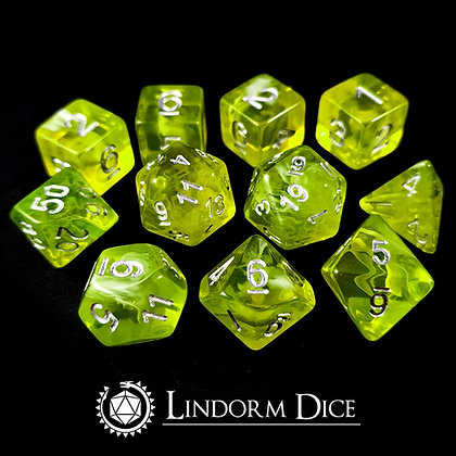 Fen fire -Norse mythology dice - 11pcs