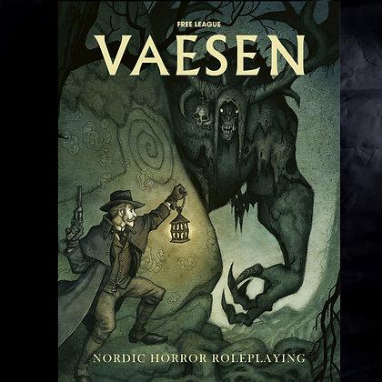 Vaesen: Nordic Horror roleplaying game- RPG Core Rulebook