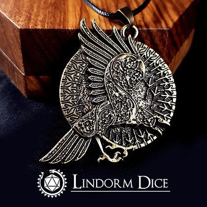 Odins raven necklace