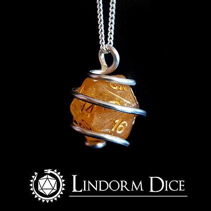 Tor D20 Necklace