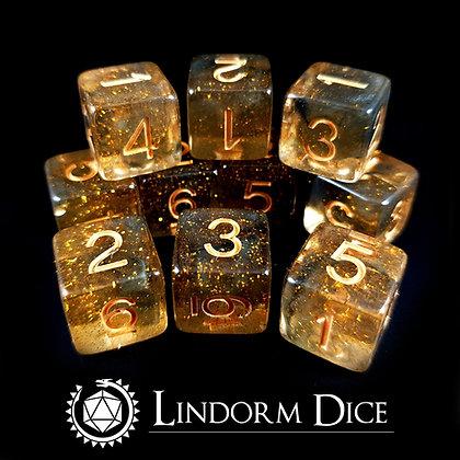 Odin D6 pack -Norse mythology dice - 10pcs