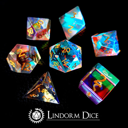 Prism glass Dice