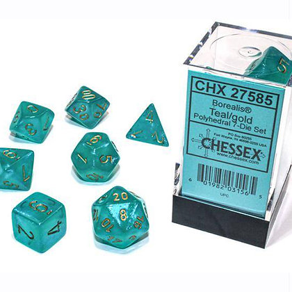 Chessex Borealis Teal luminary