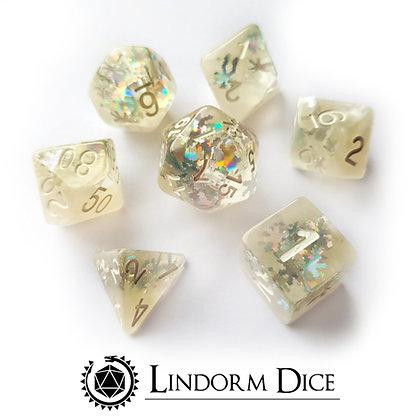 Season dice - winter wonderland
