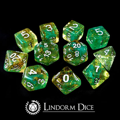Jörmungandr -Norse mythology dice - 11pcs