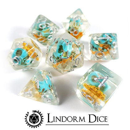 Holbox - floral skull dice