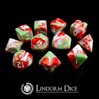 Blot -Norse mythology dice - 11pcs