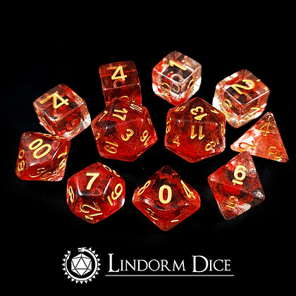 Bloodrune  -Norse mythology dice - 11pcs
