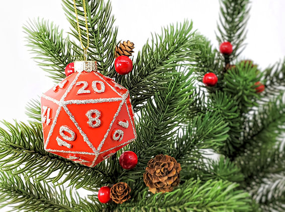 D20 - Ornament by Desmond Blackstone - PREORDER