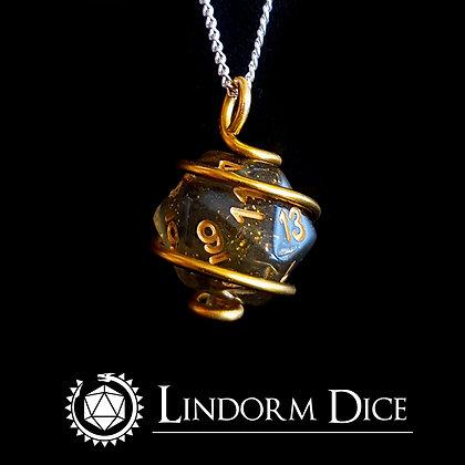 Odin D20 Necklace